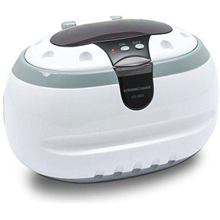 Magnasonic Ultrasonic Jewelry Cleaner Machine Sonic Wave Eyeglass Silver Home #Generic