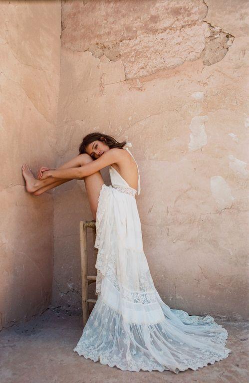 Robe de mariéeAngelicade la seconde collection 2017 de Spell & The Gypsy  crédit photo :Brydie Mack