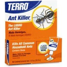 """Senoret Chemical 100-CS """"Terro"""" ANT Killer Ii 1 Oz (Pack of 12) by Terro. $32.99. Contains Borax. 1 oz. liquid in plastic bottle. """"TERRO"""" ANT KILLER II. Indoor use. Controls sweet eating ants. """"TERRO"""" ANT KILLER II *1 oz. liquid in plastic bottle *Indoor use *Controls sweet eating ants *Contains Borax *Carded-clip strip"""