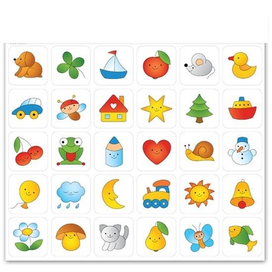 Sticker für Garderoben etc. Mehr Kindergartenausstattung gibt's bei Happy Kidz!