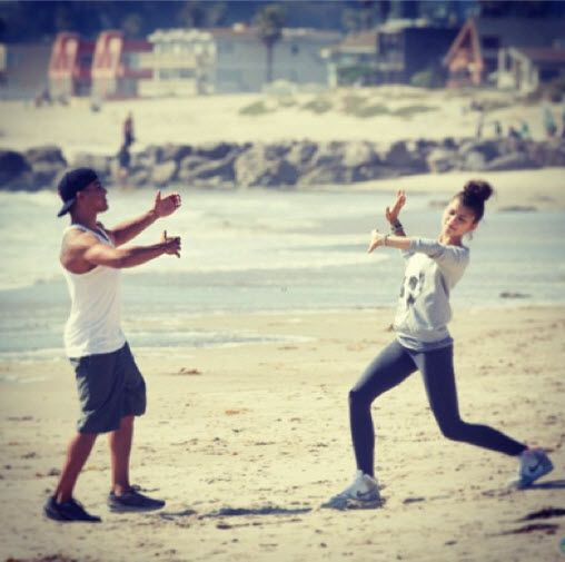 Dis411 Val Chmerkovskiy Posted A Photo Of Zendaya And Victor Ortiz June 7, 2013