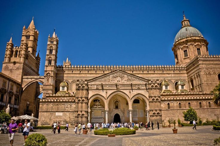 Day 2 - Sicilia Secrets Tour of Sicily Monreale, Norman Cathedral, proclaimed the Eighth Wonder of the World, and its splendid Cloister in Arab-Norman style: admirable masterpiece of art, sculpture, and semi-precious stones marquetry!