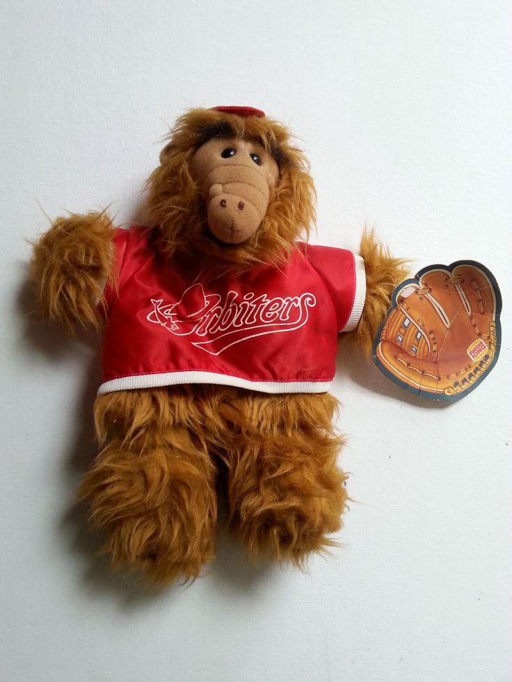 "1988 Burger King Alf Doll - 10"" Alf Stuffed Toy by brokenartmaker on Etsy"