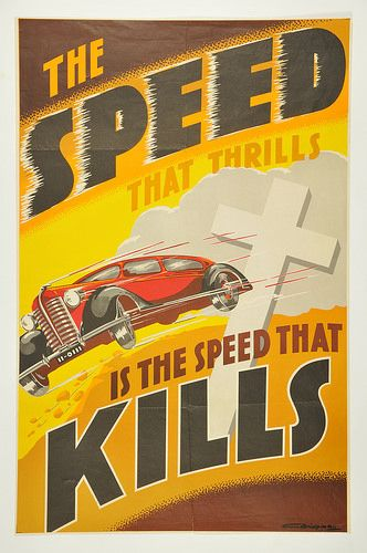 Ever-so-catchy road safety message.
