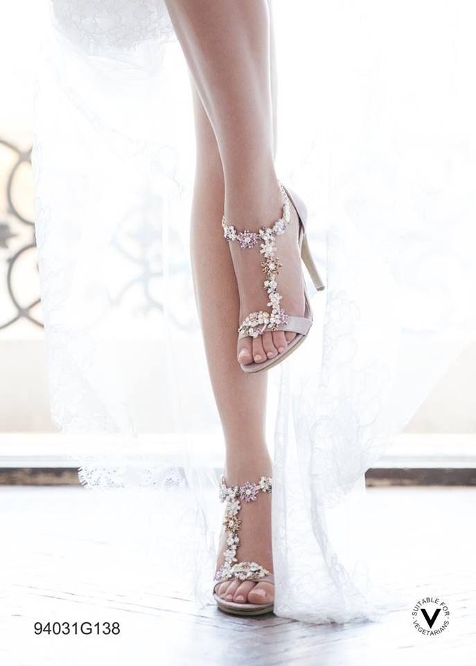 Sandalo Vegan certificato con gioiello rimovibile | Scarpe