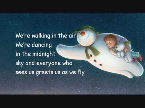 We're walking in the air - Lyrics- this is her aswell