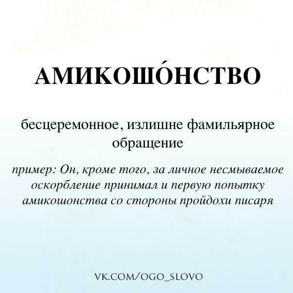 Амикошонство