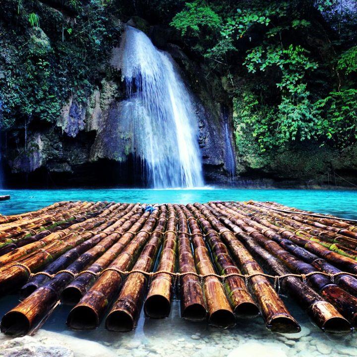 Kawasan Falls in Cebu City, Cebu