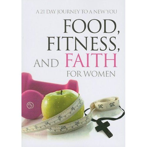 Food, Fitness and Faith for Women. God has a plan for every aspect of your life, including your diet and fitness. But God won't force you to follow His plans, He allows you to choose. This 365 Day Journal: Food, Fitness and Faith for Women offers a year's worth of encouragement to make healthy choices. Each day you'll find a scripture reference, short reading and space to write reflections. Start on your path to achieving physical, spiritual, and emotional health.
