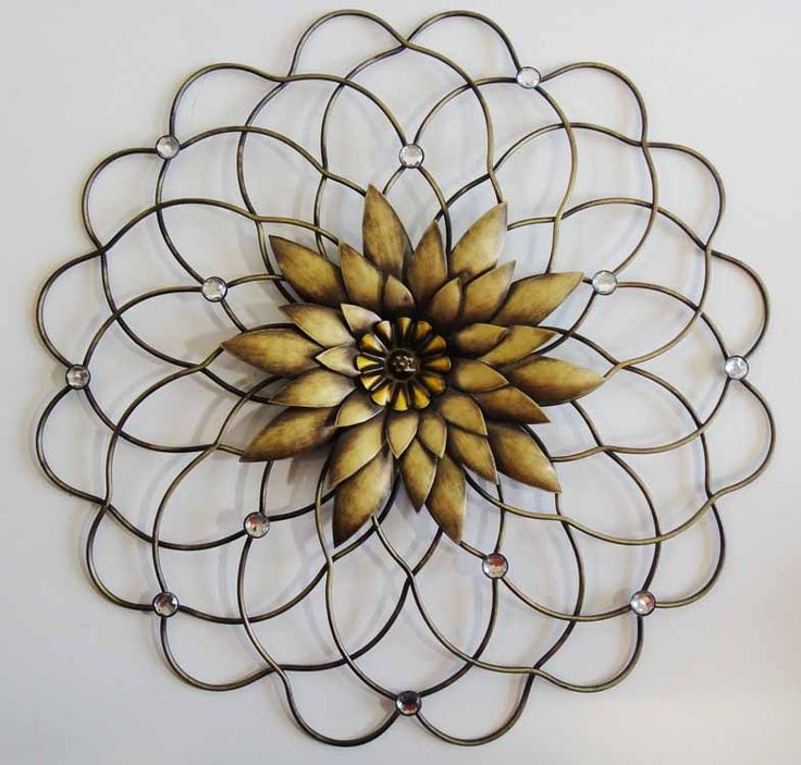 Metal Flower Wall Art 12 best metal wall pictures and decorations images on pinterest