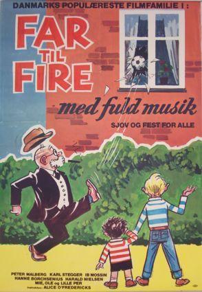 Far til fire med fuld musik (1961) Mie bliver forelsket og Ole kommer i dårligt selskab