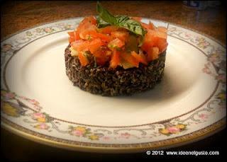 venere rice with tuna and tomatoes