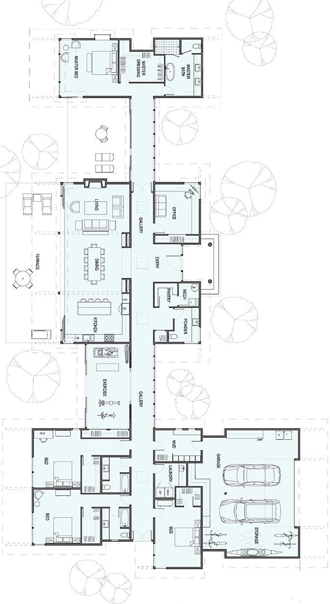 Architecture House Floor Plans 430 best floor plans images on pinterest | architecture, house