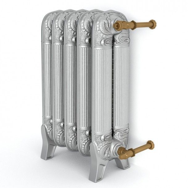 August - Retro Iron Radiator