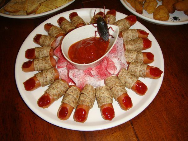 Spooky Halloween Party Appetizers!