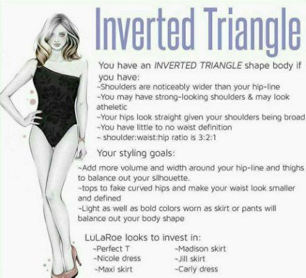 25+ best Inverted triangle fashion