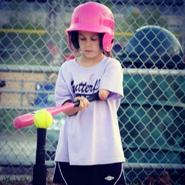 She is rocking t-ball. #bornjustright  http://bornjustright.com