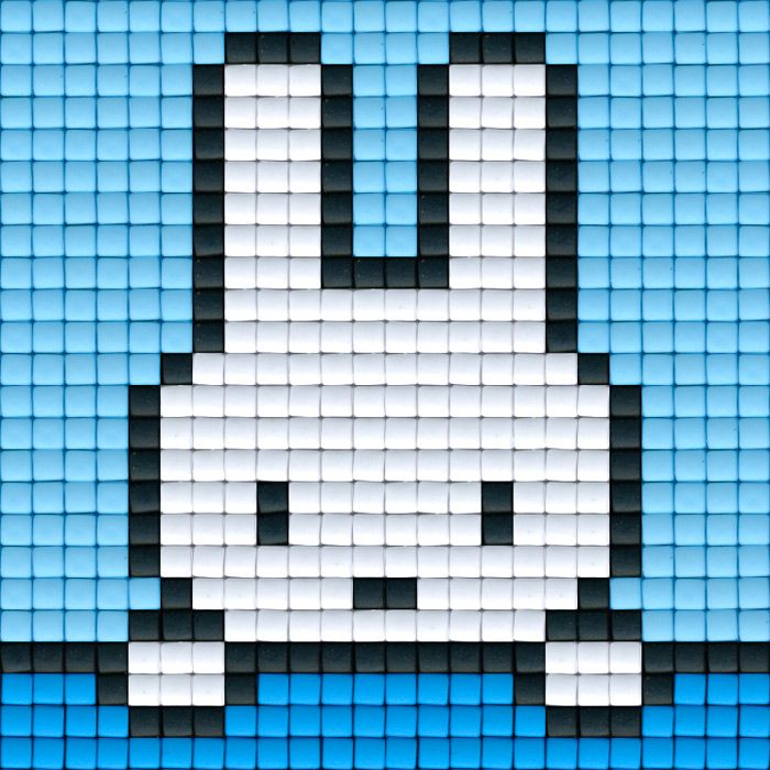 Nijntje blauw   Pixel Party