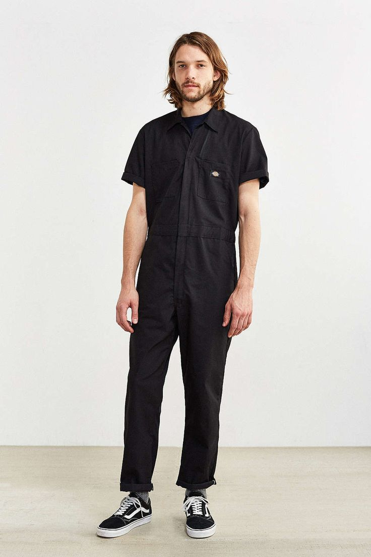 Dickies Basic Short-Sleeve Coverall - Urban Outfitters