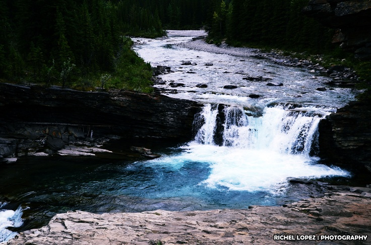 Sheep River Falls, Kananaskis Country, Alberta, Canada