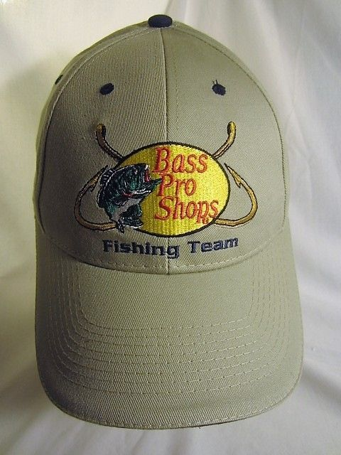 8a4cd4cc47889 Bass Pro Shops Ball Cap Fishing Team Hat Great Outdoors Pass It On  Embroidered  BassProShops  Fishing