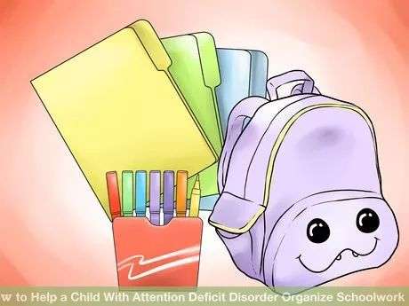 Image titled Help a Child With Attention Deficit Disorder Organize Schoolwork Step 1