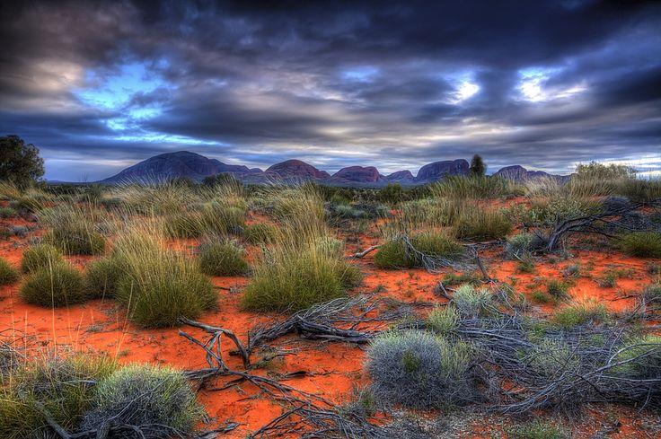 Red Centre, Australia ~ by John Dekker