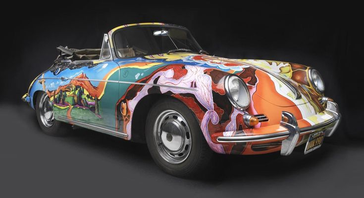The Story Behind Janis Joplin's Psychedelic Porsche Is VERY Rock And Roll