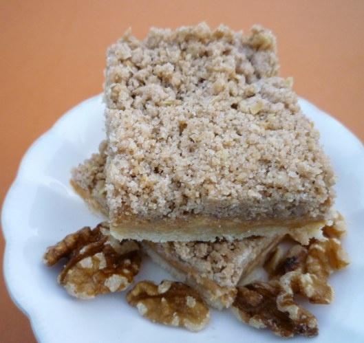 Creamy Pumpkin Butter Pie Bars | Sweets to Make | Pinterest