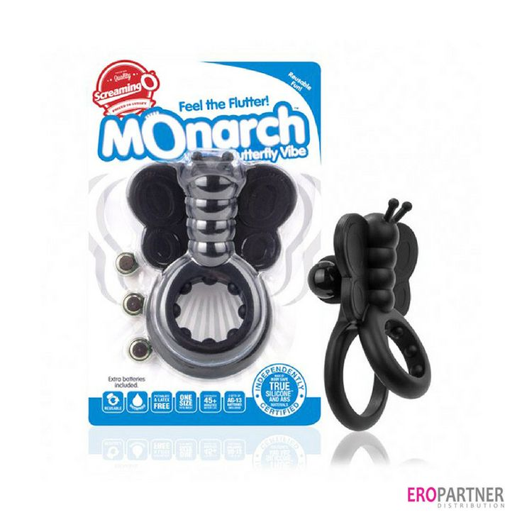 The Monarch, a wearable butterfly vibrator of #ScreamingO Now available at #Eropartner #screamingo #distribution #sextoys #sextoy #vibrator #pleasure #butterfly