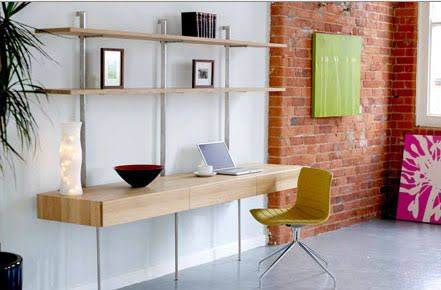 desk shelf unit - Google Search