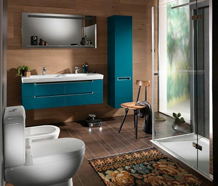 Pomysł na wyposażenie łazienki Villeroy & Boch Subway
