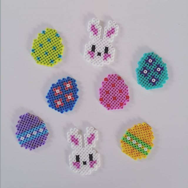 Easter hama beads by summenafliv