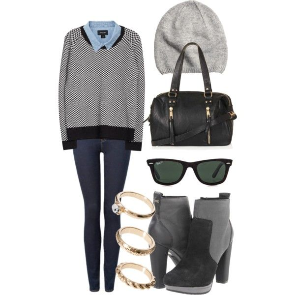 Lily Collins Inspired Casual/Dressy Outfit