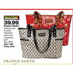Franco Sarto Catherine Tote at Stage Stores Black Friday 2013