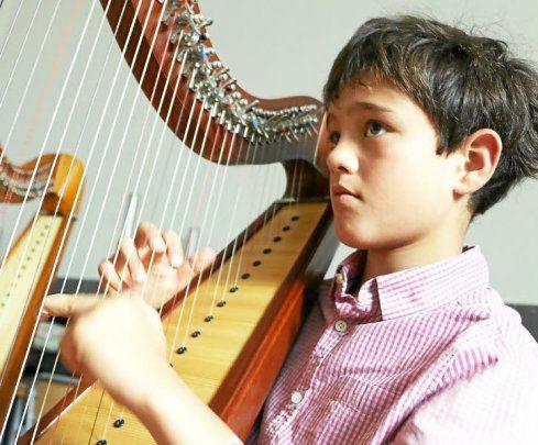 """#LeTélégramme a publié un article sur un jeune garçon de 11 ans vivant en #Bretagne, #aspie, passionné de musique : """"#CarlPhilip, petit prince de la #harpe celtique"""" :) L'occasion de reparler du magnifique livre, signé du québécois Antoine #Ouellette, lui-même touché par le #SyndromeDAsperger & musicien (Y)"""
