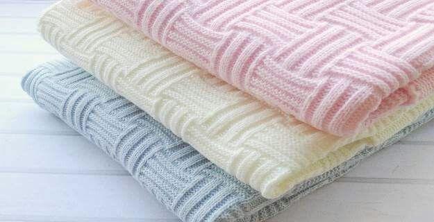 Knitting Baby Blanket (105) - Knitting, Crochet, Dıy, Craft, Free Patterns