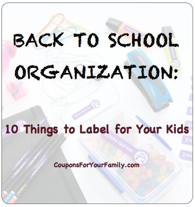 17 best coupon codes images on pinterest coupon codes coupon back to school organization 10 things to label for your kids plus a 15 coupon code for bright star labels fandeluxe Choice Image