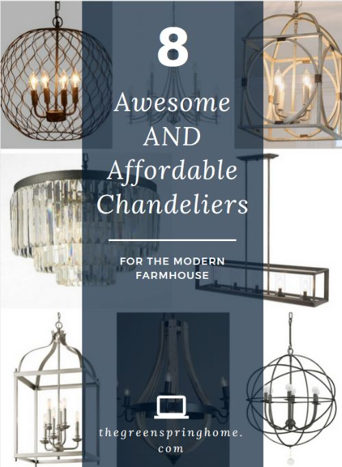 Magnificent Chandelier Online Shopping shop 8 Awesome And Affordable Chandeliers For The Modern Farmhouse Click To See All 8 Chandelier
