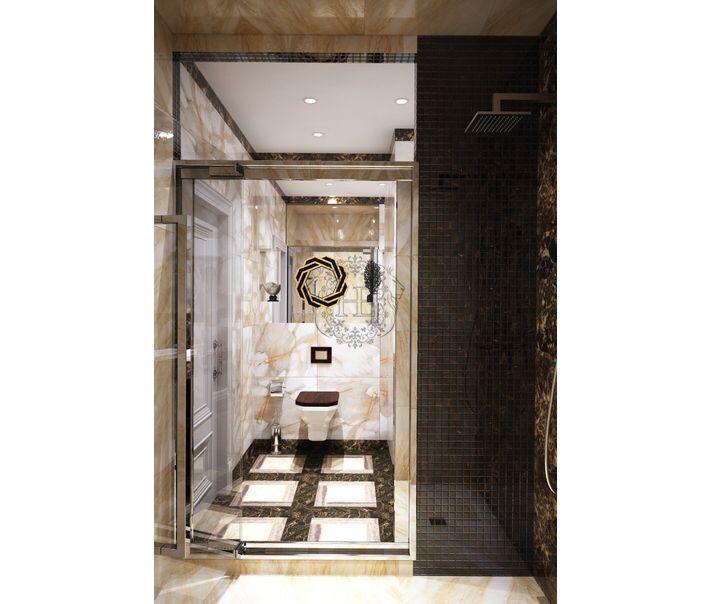 Ванная комната. Общая площадь 5,5м2