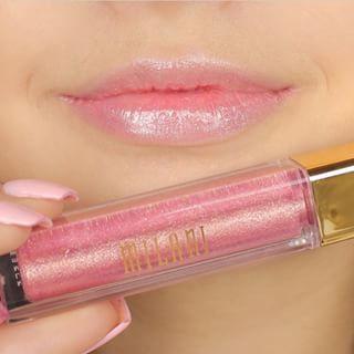 milani lip gloss fierce foil venice swatch - Google Search-ice pink in clear winter palette