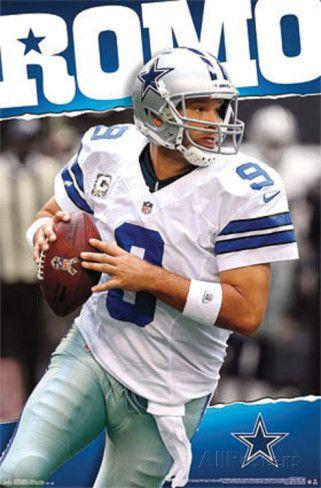 Tony Romo Dallas Cowboys Poster at AllPosters.com