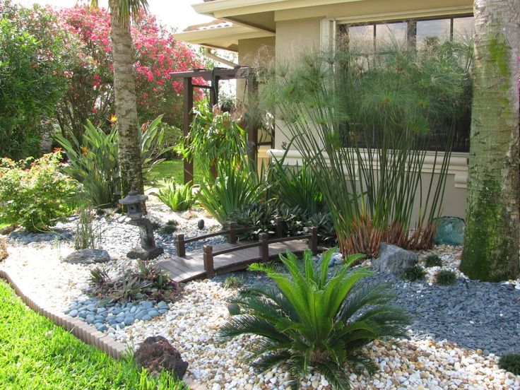 find this pin and more on landscaping ideas white marble chips south florida landscape design