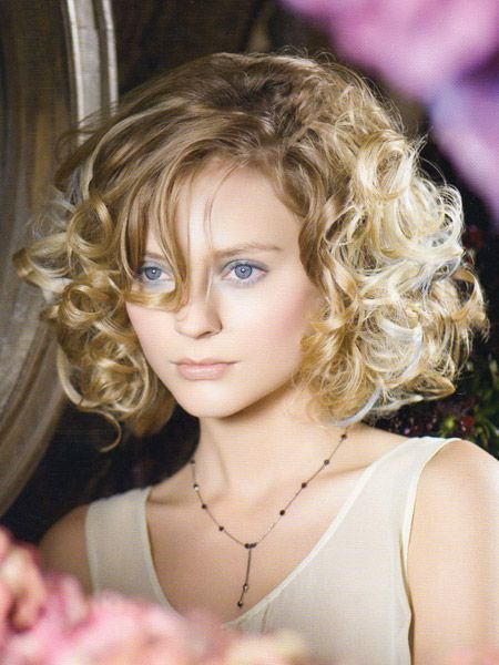 hairstyles for women over 45 with curly hair | Short Curly Hairstyles 2013