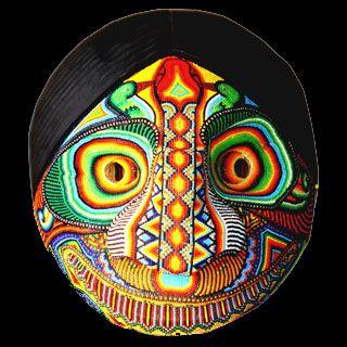 Máscara artesanal del Putumayo, Colombia