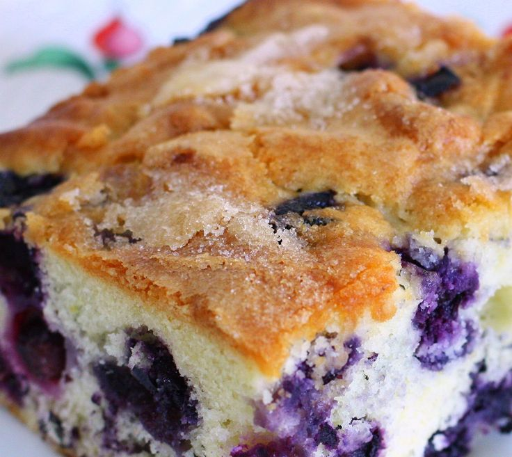 Huckleberry Crumble Coffee Cake and more huckleberry recipes