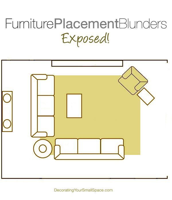Top 3 Furniture Arranging Mistakes Exposed   – Living Room Layouts