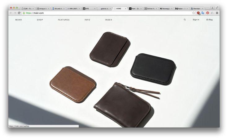 Horní sekce: bez textu, důraz na produkt; obrovské fotky, minimum textu