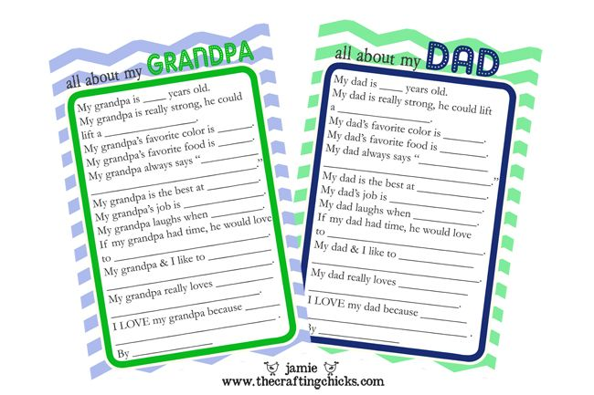 fathers day questionaire 1: Gifts Ideas, Father Day Gifts, Grandpa Father Day Crafts, Fathers Day, Father'S Day, Grandpa Crafts For Kids, Father Day Traditional, Free Printable, Father S