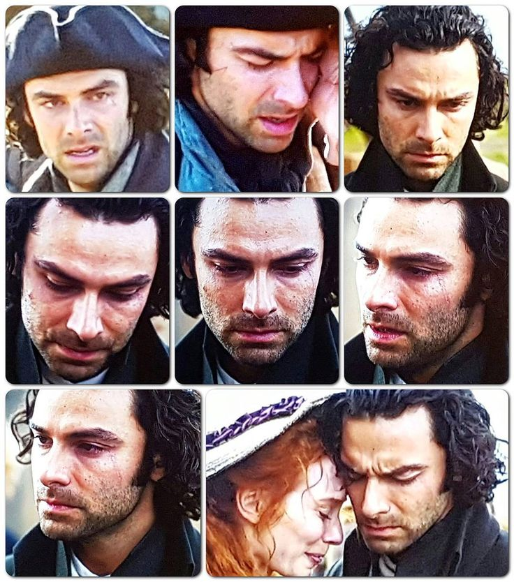 Such utter heartbreak in #Poldark....it felt as if we were intruding on private grief. Capt Henshawe will be much missed by everyone. Exceptional acting from all but especially #AidanTurner....nuanced acting at its finest.